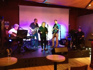 Judy Dyble and band