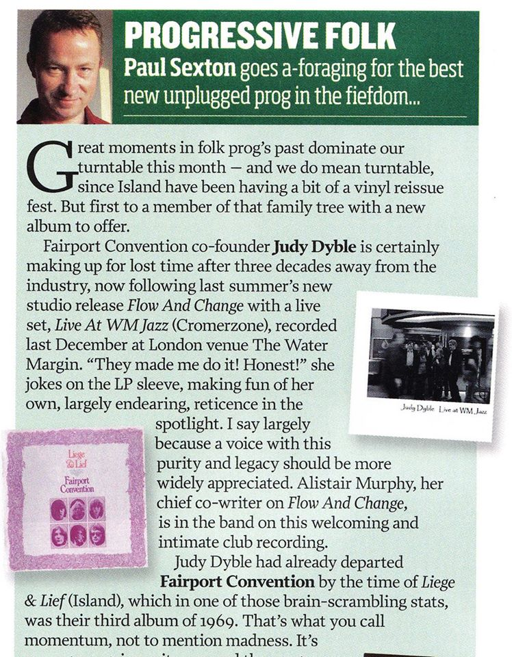 Prog magazine review by Paul Sexton