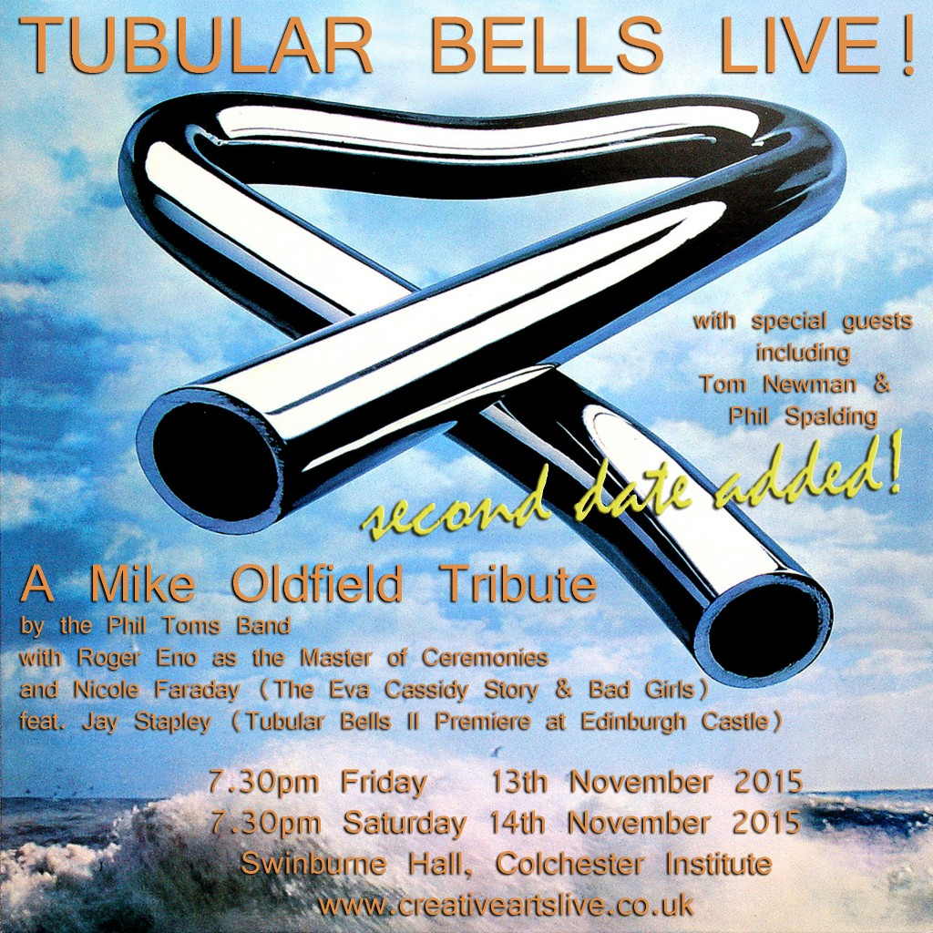 Tubular Bells tickets!