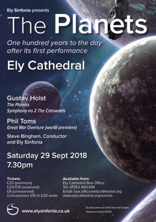 Ely The Planets Poster